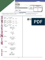 Algebra 5to Colegios Montesori