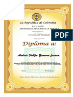 Diplomas de Quinto 2018
