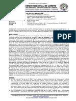 Modelo de informe legal