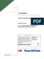 TECHNICAL MANUAL CT BOP 5.12 10K ES54 SINGLE P/S M60ES54-U543XL-MAN-001