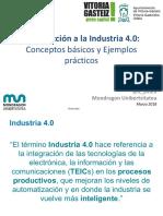 Introducción alaIndustria 4.0: Conceptos básicos yEjemplos prácticos