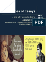 9th Types of Essays Descriptive