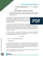 Normativa de Pesca Continental en Galicia 2019