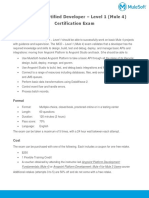 MCD Level1 Datasheet