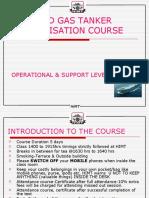 Liquefied Gas Tanker Familiarisation Course