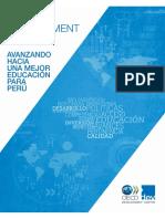 OECD Avanzando Hacia Una mejor Educación Para Perú