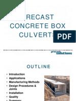 Box Culvert Presentation
