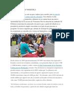 Los Migrantes de Venezuela a ecuador