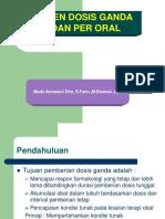 Regimen Dosis Ganda IV & Oral