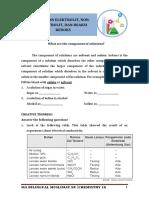 Kimia 10 - l. Elektrolit, Non Elektrolit, Redoks Fix