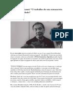 Haruki Murakami - O Trabalho de Um Romancista é Sonhar Acordado