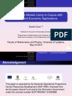 Ciuiu - Econometric Models Using M-Copula