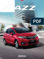 Catalogo honda jazz