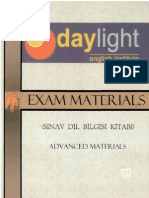 Daylight Exam Materials