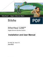 Siklu Eh-1200 Install & User Manual - Eh-Instl-02_issue3 (June 2012)