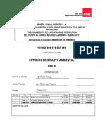 ESTUDIO DE IMPACTO AMBIENTAL DEL HOSPITAL CARRIÓN- II ETAPA