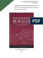 Sociedades Rurales, Debates Contemporáneos y Nuevos Retos