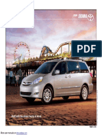 Toyota Sienna 2011 Quick Guide