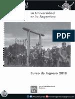 La Universidad en La Argentina