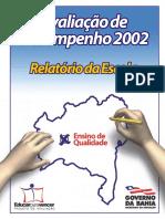 Relat Escola Av Desempenho BA 2002