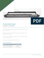 24 Port Patch Panel 320433EU