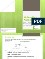 AULA 2 - Potencialização