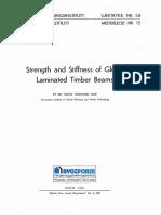 Glue Laminated Timber Beams