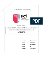 Proyecto de Factibilidad Tecnica y Economica
