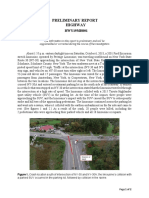 HWY19MH001 Preliminary Report