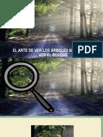 El Arte de Ver Los Árboles Sin Dejar de Ver El Bosque