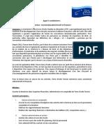 Appel à Candidatures Assistant e Administratif Et Financier