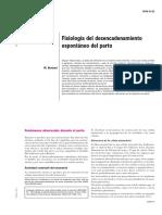 Fisiología del desencadenamiento espontáneo del parto [5-049-D-22]