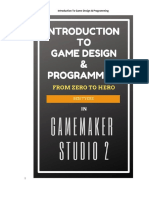 Introduction To Game Design & Programming In GameMaker Studio 2
