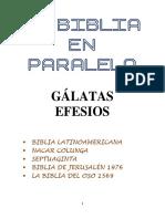 8.- La Biblia en Paralelo GÁLATAS,EFESIOS-IIparte
