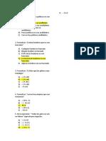 Preguntas Para Examen 4to Logica