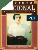405.- Revista Nacional - No. 240 Sobrecristianismosigloxix Feb. 1995