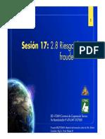 Sesión 17 2.8 Riesgo de Fraude