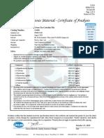 Certificado Catequinas