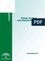 Examen de Salud 65. 2017