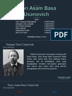 Teori Asam Basa Usanovich Fix