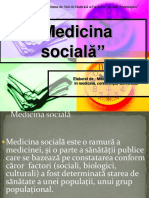 Medicina Sociala Morosanu