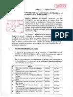 Basilia Mamani denuncia tala ilegal ante la FEMA y solicita interdicción