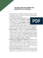 PASOS PARA FORMATEAR UNA PC.docx
