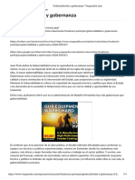 Gobernabilidad y Gobernanza _ Vanguardia.com