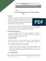 MEJORAMIENTO DE PISTAS Y VEREDAS