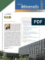 Boletim Setor Mineral 2007