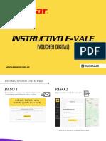 Instructivo E-Vale( Taxi Caller)
