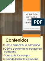 Manual Campana Electoral Municipal