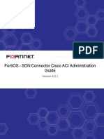 FortiOS 6.0.2 SDN Connector Cisco ACI Administration Guide