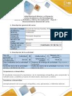 Guía de Actividades y Rúbrica de Evaluación Del Curso - Paso 0 - Reconocimiento General Del Curso